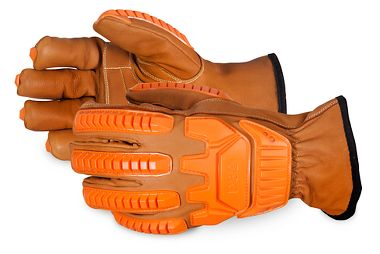 Endura® Oilbloc™ Goatskin Glove Lined with DuPont™ Kevlar® Fibers, Anti-Impact D3O® Back