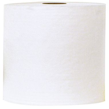 "Galeton® White Embossed DRC Jumbo Roll Medium Weight, 12.5"" x 12"", 950 Sheets/Roll"