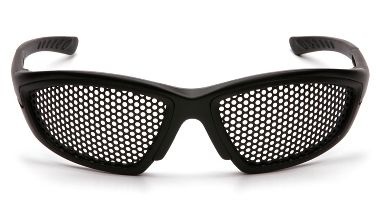 Pyramex® SB76WMD Trifecta Punched Steel Mesh Lens Safety Glasses