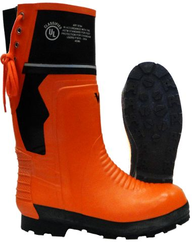 Viking® VW64-1 Class 2 Chainsaw Boots, Steel Toe, Metatarsal Protection