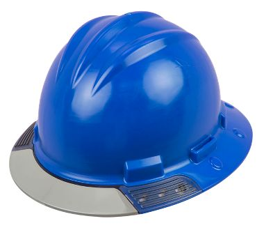 Bullard® AboveView™ Full Brim Hard Hat with See-Through Gray Brim Visor