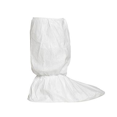 "DuPont™ Tyvek® 400 Boot Cover TY454S WH option SR, Tyvek® FC Skid-Resistant Sole, 18"" High"