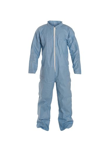 DuPont™ ProShield® 6 SFR Coverall, TM120S BU, Secondary Flame Protect, Open Wrists&Ankles