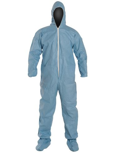 DuPont™ ProShield® 6 SFR Coverall, TM122S BU, Standard Fit Hood, Elastic Wrists, Boots