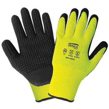 Global Glove Samurai 802 Heat and A3 Cut Resistant Nitrile Coated Gloves