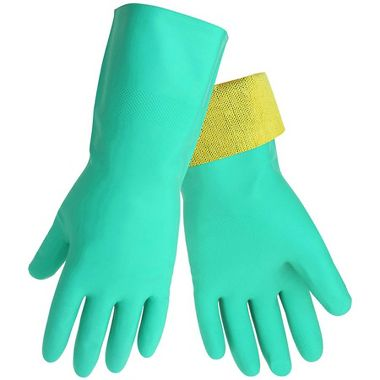 Global Glove 515KEVCut Resist Nitrile Gloves with Liner Made from DuPont™ Kevlar® Fibers