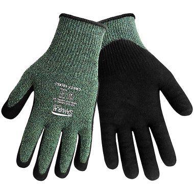 Global Glove CR677 Cut Resist A7 Sandy Nitrile Palm Coated Gloves