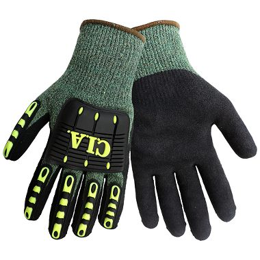 Global Glove CIA677 Vise Gripster CIA Performance A7 Cut/Impact Resistant Gloves