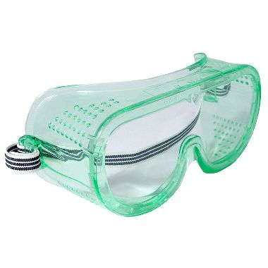 Radians GGP11UID Perforated Safety Goggle, Clear