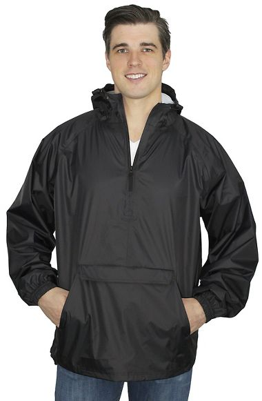 Repel Rainwear™ SPORTweight 70 Denier Nylon/PU Waterproof Pullover Shell Jacket