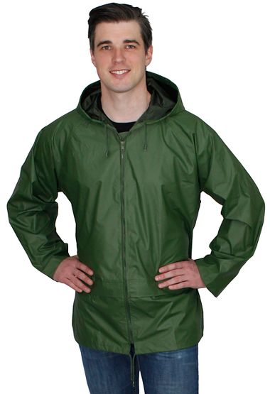 Repel Rainwear™ 0.20mm Nylon & PVC Rain Jacket