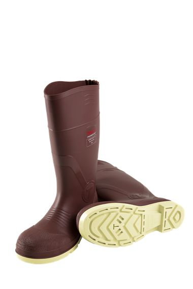"Tingley 93255 Premier G2™ PVC 15"" Boots, Chevron Outsole, Composite Safety Toe"