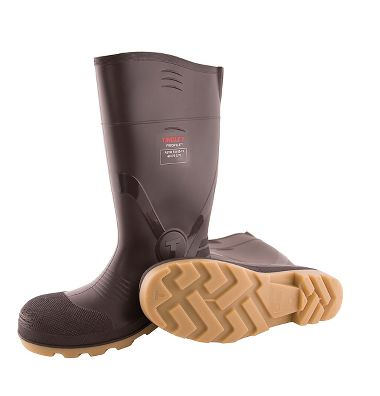 "Tingley 51254  Profile™ PVC 15"" Boots, Cleated Outsole, Composite Safety Toe"