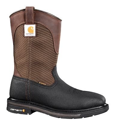 Carhartt® CMP1258 11 Inch, Waterproof, Square Toe Wellington Boots, Steel Toe