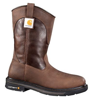 Carhartt® CMP1218 11 Inch, Brown, Square Toe Wellington Boots, Steel Toe