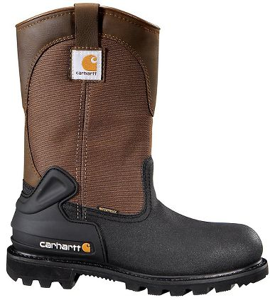 Carhartt® CMR1899 11-Inch Puncture Resistant Insulated CSA Wellington Boots, Steel Toe