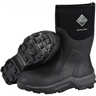 Honeywell ASM Muck Arctic Sport Mid Height, Insulated, Waterproof Boots