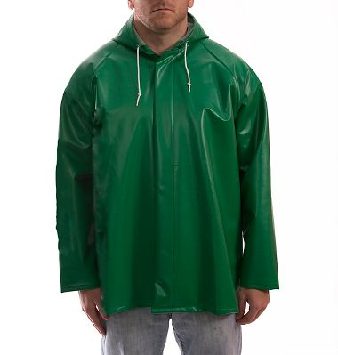 Tingley® J41108 Safetyflex® Flame & Chemical Resistant PVC Jacket, Attached Hood