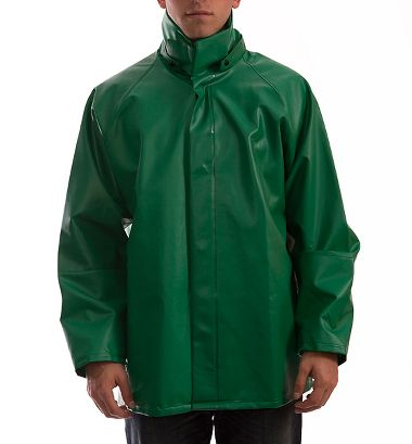 Tingley® J41248 Safetyflex® Flame & Chem Resist PVC Jacket with Inner Cuffs, No Hood