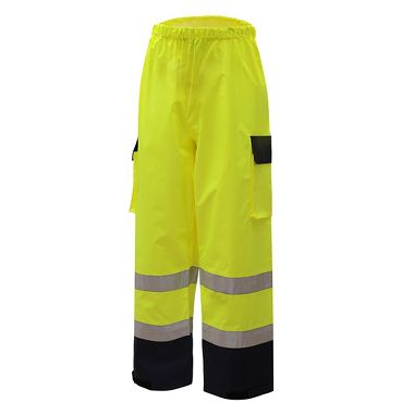 GSS 6803 Class E Premium Waterproof Pants With Black Bottom