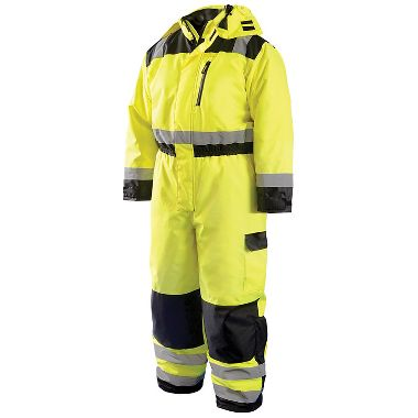 Occunomix LUX-WCVL Class 3 High Visibility Winter Coverall