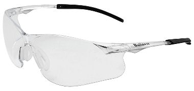 Bullnose Safety Glasses, Clear Lens