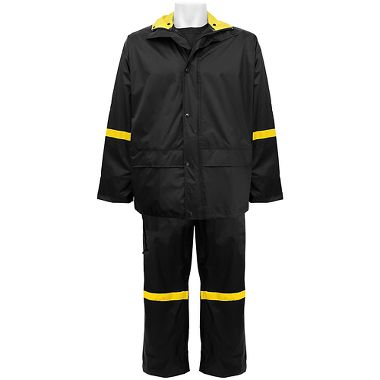 Frog Wear® 3-Piece Premium .18mm Nylon/PVC Rain Suit