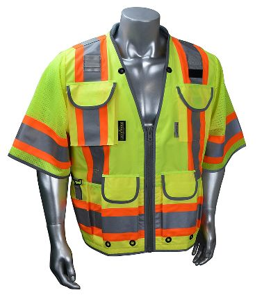 Radians® SV55-3 Class 3 Heavy Woven Two Tone Engineer Vest