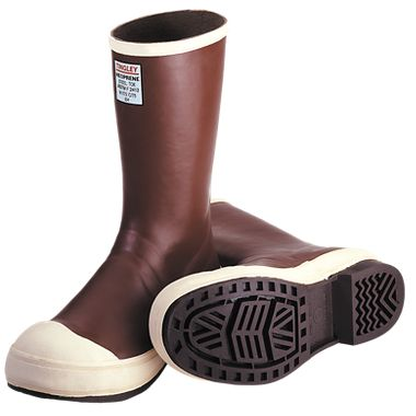 Tingley® MB920B Pylon™ Neoprene  Boot, Chevron Outsole, Plain Toe, 12.5""