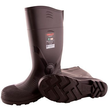 Tingley 31341 Pilot PVC Knee Boot, Steel Toe & Steel Puncture Resistant Midsole
