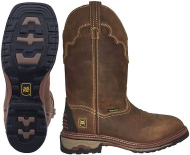 Dan Post Work Certified™ DP69402 Blayde Waterproof Leather Boots, Non-Safety Toe