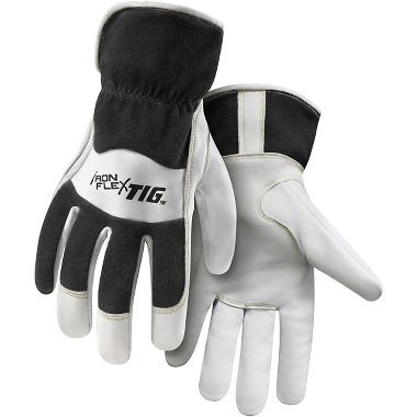 Steiner® 0261 IronFlex® Premium Kidskin, Flame Retardant Cotton Back, TIG Welding Gloves