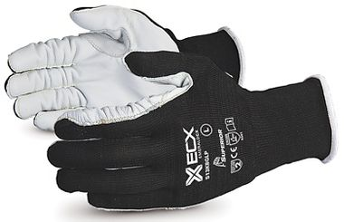 Superior Glove S13KBGLP Emerald CX® 13 gauge Nylon/Stainless Steel Knit, Goat Grain Palms