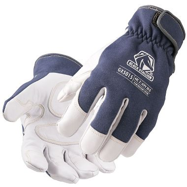 Black Stallion® GX5015 ARC-Rated Goatskin & FR Cotton Mechanics Glove