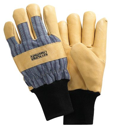 Palomino® Pigskin Palm Gloves, Thermal Insulation, Knit Wrist