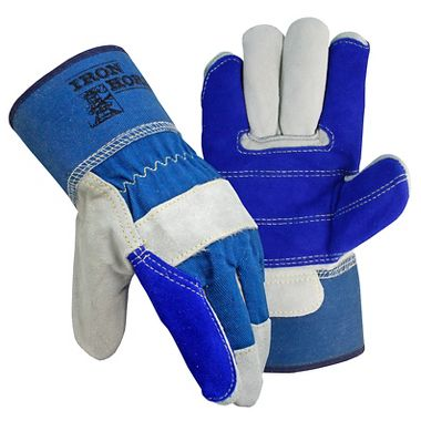 Iron Horse Double Palm Gloves, Safety Cuff