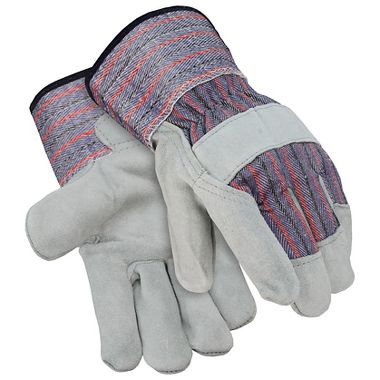 Select Leather Palm Gloves, Safety Cuff