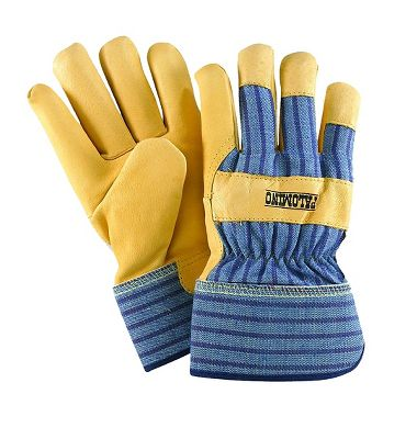 Palomino® Pigskin Palm Gloves, Safety Cuff, 1 Pair
