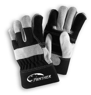 Panther™ Double Palm Gloves, Safety Cuff, 1 Pair