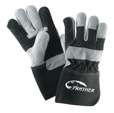 Panther™ Double Palm Gloves, Gauntlet Cuff, 1 Pair