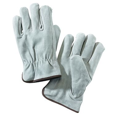 Split Cowhide Leather Drivers Gloves