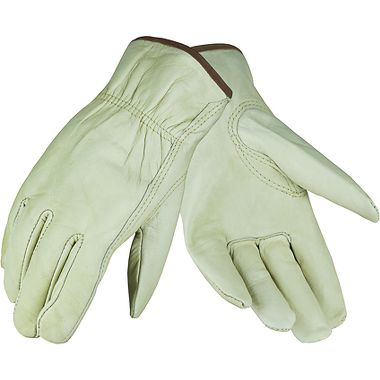Cowhide Drivers Gloves, Economy, 1 Pair