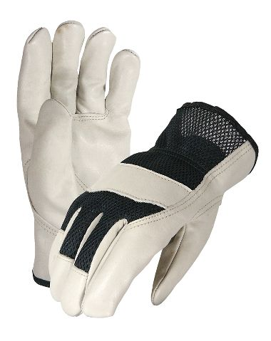 Express Rider Drivers Glove, Mesh Back, 1 Pair