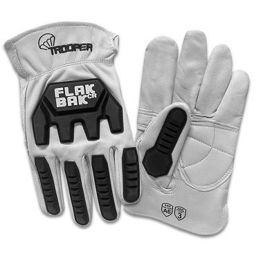 Trooper FlakBak™ CR Goatskin Impact and Cut Resistant Driver Gloves
