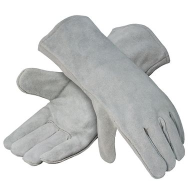 Heavy Shoulder Leather Welders Gloves, Lined