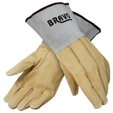 Bravo Mig/Tig Welders Gloves, 1 Pair