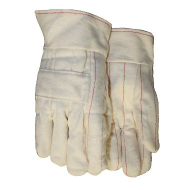 3 Layer Hot Mill Gloves, Band Top Cuff, Made in USA