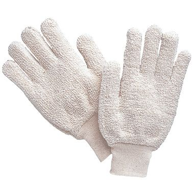 Cotton Terry Gloves, Men's 24 oz.