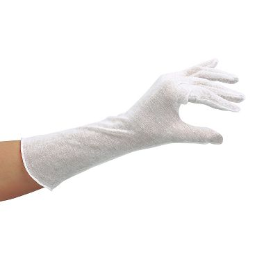 Cotton Inspection Gloves, Men's 14 Lightweight