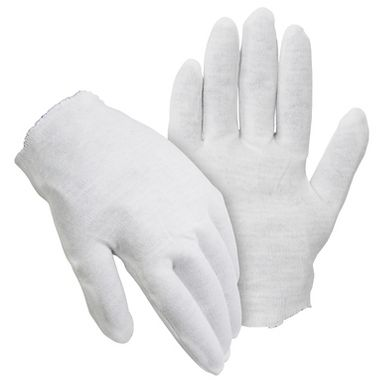 Cotton Inspection Gloves, Ladies' Heavyweight